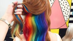 Hidden Rainbow Hair Lets You Choose When To Reveal Your True