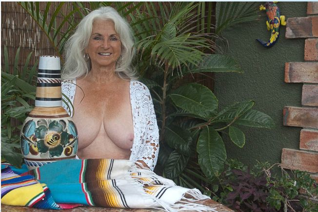 Dixie McCormick, 76, isMs. July 2016. She is described as artistic,and decorates her Baja home in a colorful Mexi