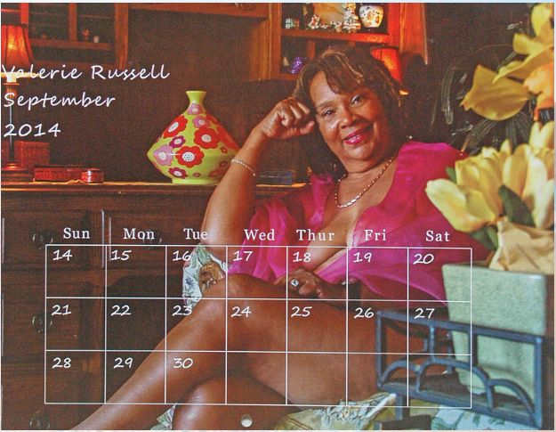 Valerie Russell isMs. September 2014. She declined to disclose her age.Ageism has caused many older womenfe