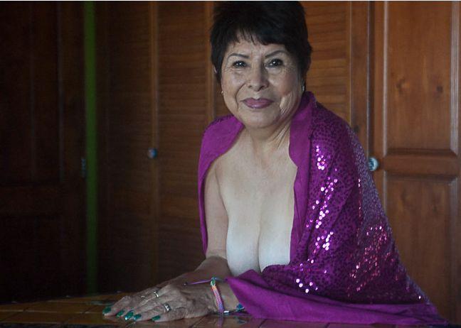 Marie Lozoya, 68, is Ms. November 2016. She loves to Tango.