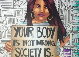This Body-Positive Colouring Book Will Remind You 'Your Body Is Not Wrong, Society Is'