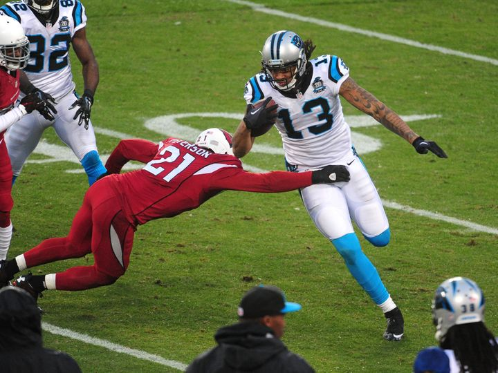 Having a massive target as physically gifted and imposing as Kelvin Benjamin will only help Cam Newton and the Panthers' offe