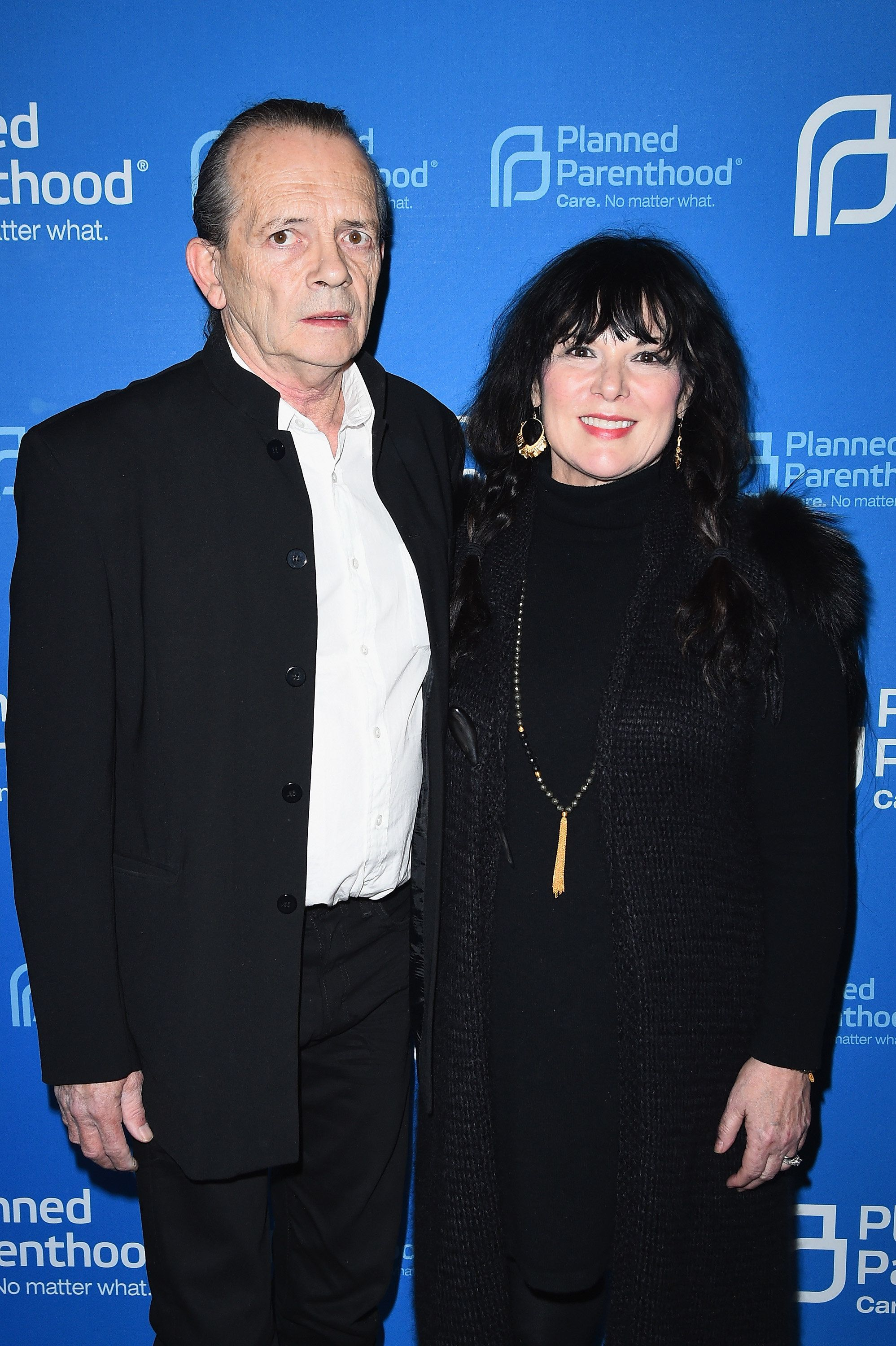 Dean Wetter and Ann Wilson attend the Lena Dunham and Planned Parenthood Host Sex, Politics & Film Cocktail Reception on