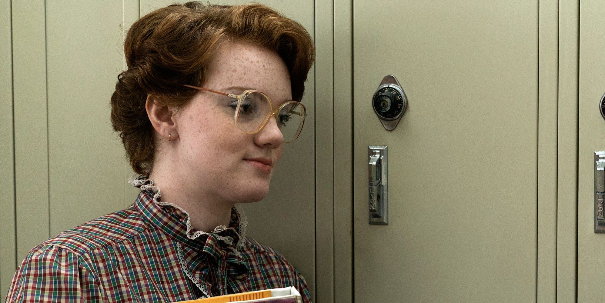Barb Returns From The Upside Down With Cake For 'Stranger Things' Co-Stars