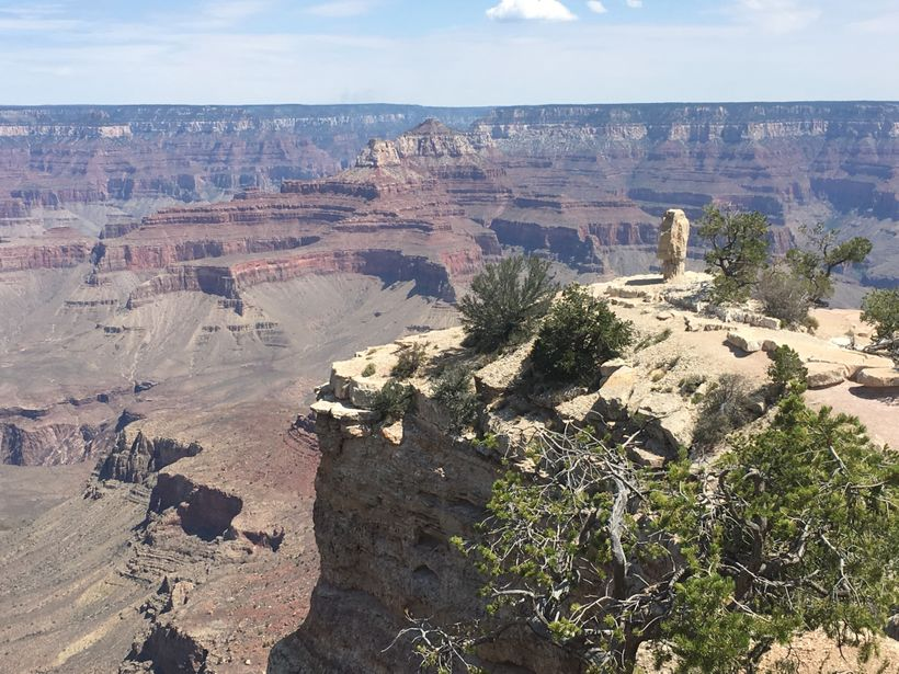 A peaceful day at the Grand Canyon in July 2016