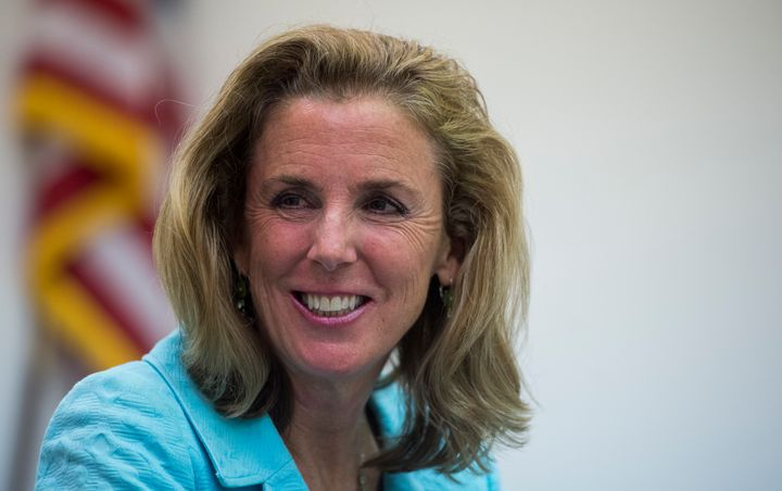 Katie McGinty once trailed Sen. Pat Toomey by more than 10 percentage points.