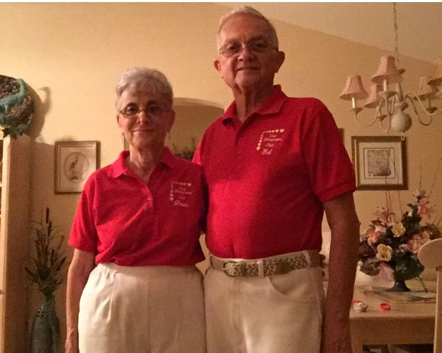 These grandparents have dressed alike for 52 years.