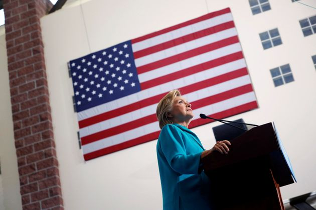 Democratic presidential nominee Hillary Clinton speaks at a rally at Truckee Meadows Community College...