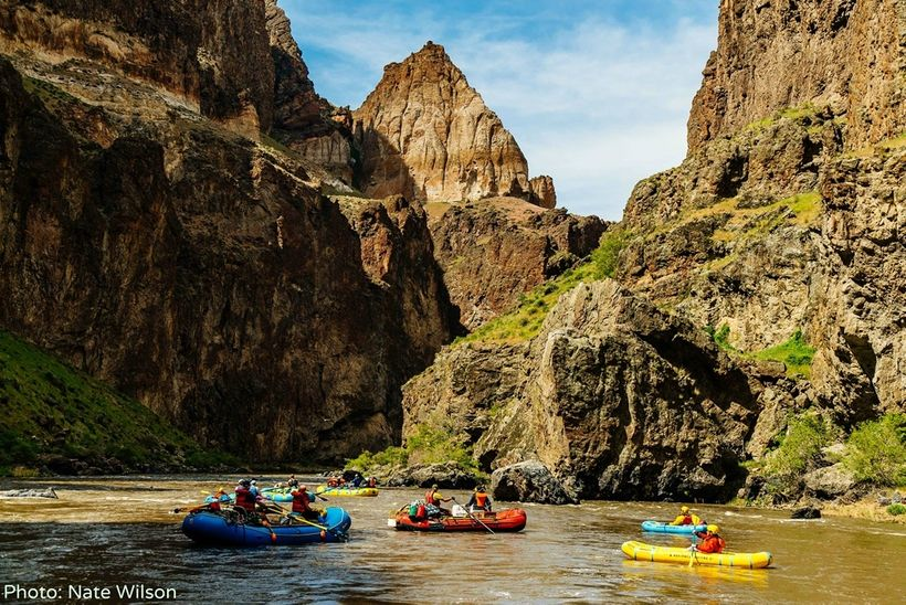 Renowned for abundant wildlife, outstanding recreation and red-rock scenery, Oregon's Owyhee Canyonlands is the largest unpro