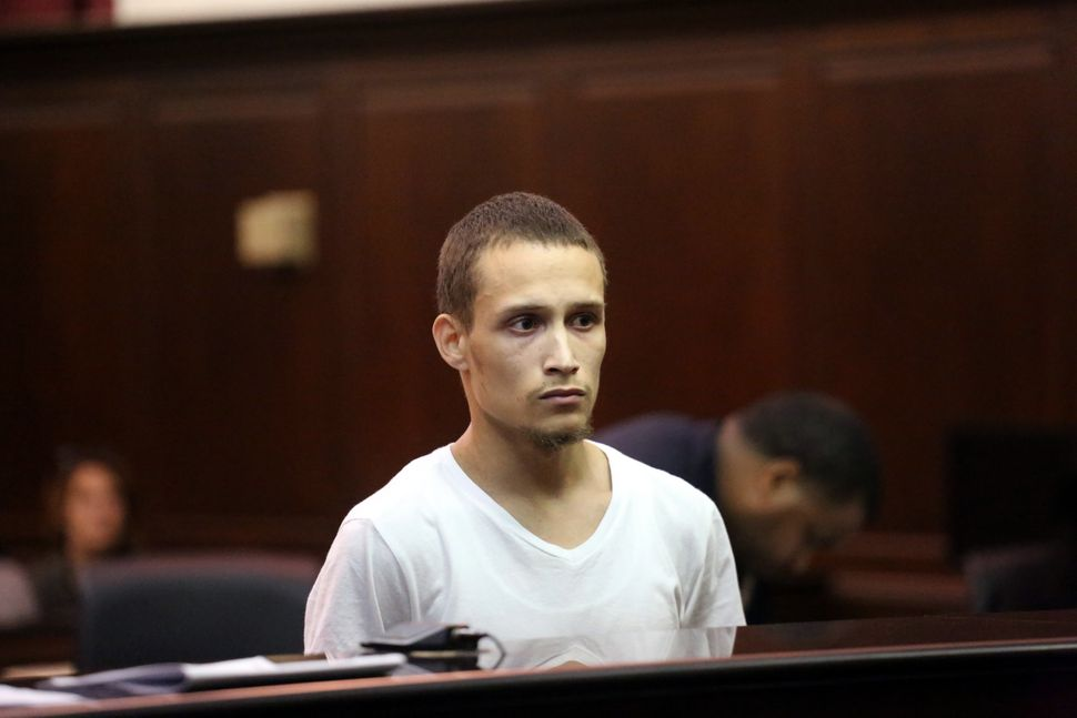 Orta appears in Manhattan Criminal Court on July 1, 2015.