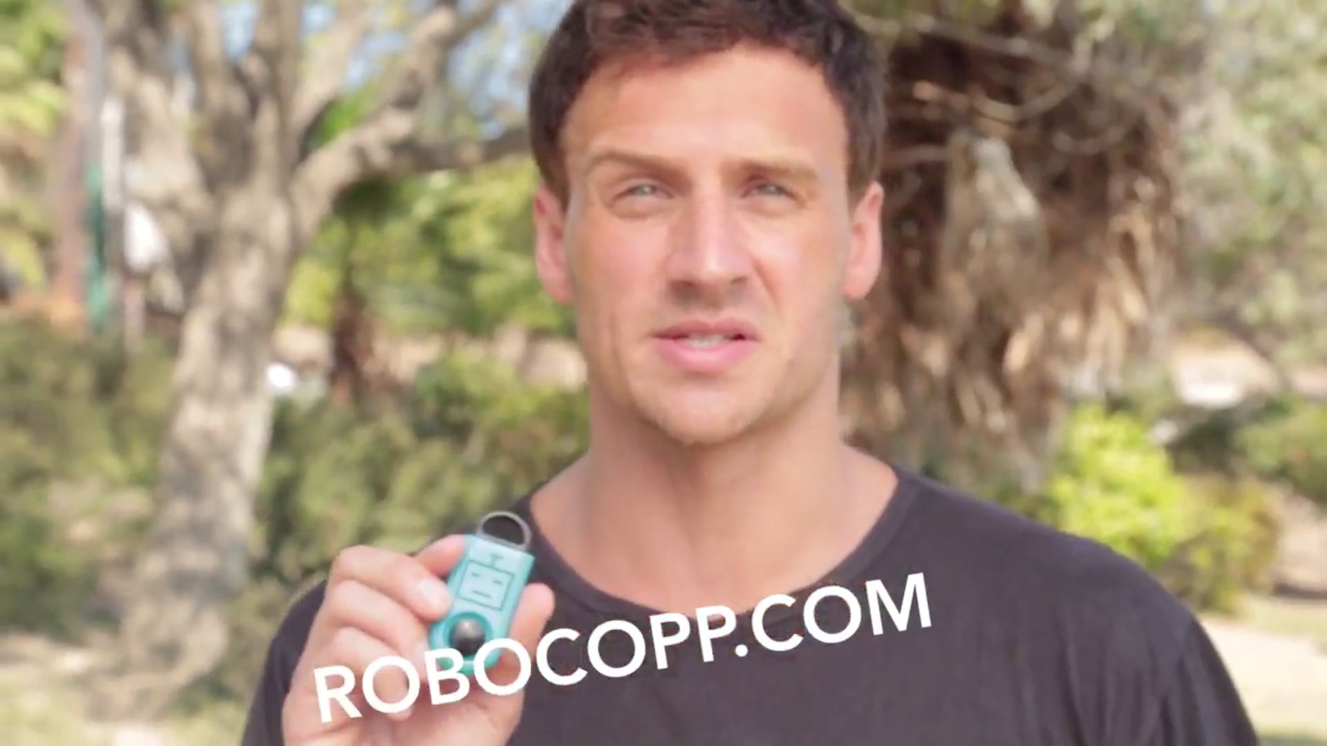 Olympic gold medalist Ryan Lochte is using his fame to endorse a personal security device