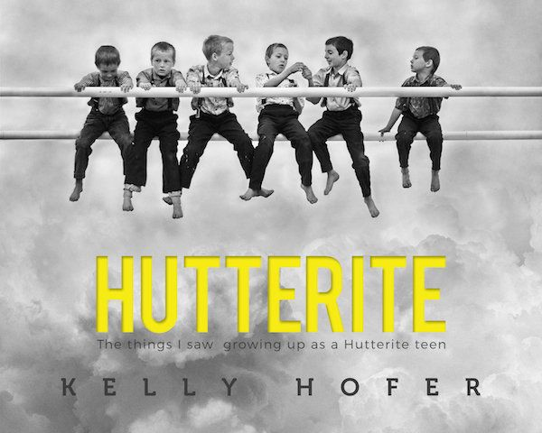The cover of Hofer's book, <i>Hutterite</i>.
