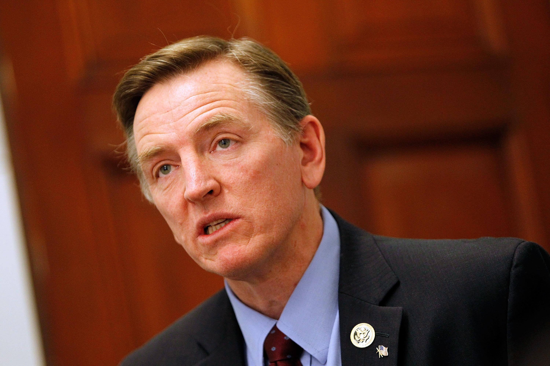Rep. Paul Gosar (R-Ariz.) earlier voted to oust then-Speaker John Boehner.