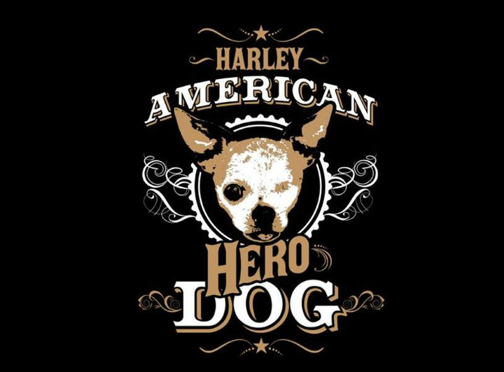 Harley's American Hero Dog design by Mike Maddux