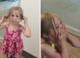 Little Girl's Heartwarming Reaction To Being Reunited With Her Cat