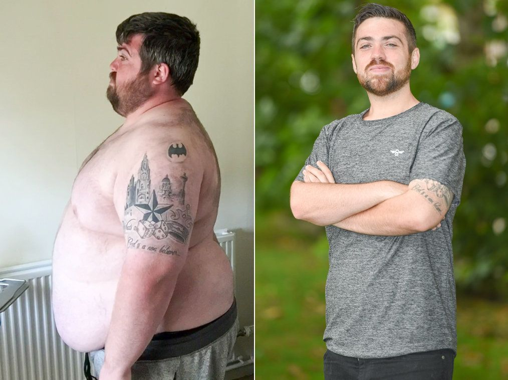 Student Loses 17 Stone In Just 9 Months On Channel 4