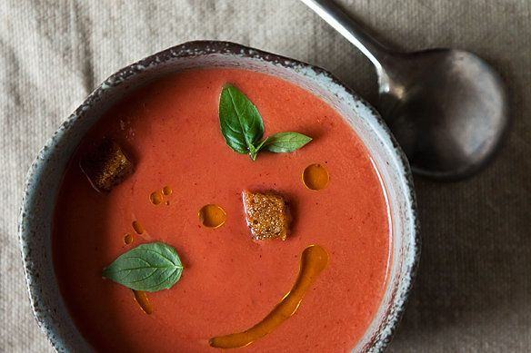 """<strong>Get <a href=""""http://food52.com/recipes/18052-eleven-madison-park-s-strawberry-gazpacho"""" target=""""_blank"""">Eleven Madiso"""