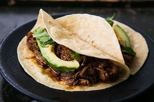"""<strong>Get the <a href=""""http://www.simplyrecipes.com/recipes/slow_cooker_mexican_pulled_pork/"""" target=""""_blank"""">Slow Cooker M"""
