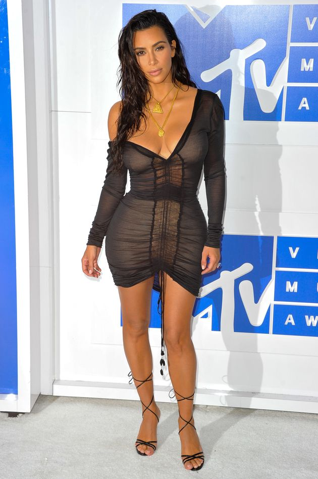 Kim Kardashian's Latest Sheer Outfit Might Be Her Most ...