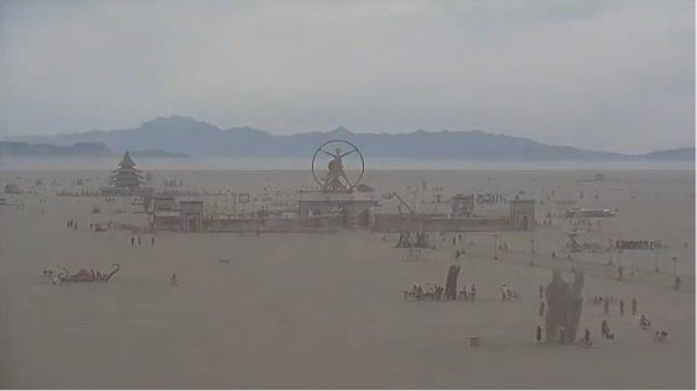 Burning Man Live-Stream Lets You Look Upon A Dystopian