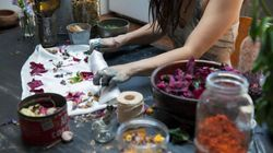 This Designer Uses Flower Waste To Make Truly Magical