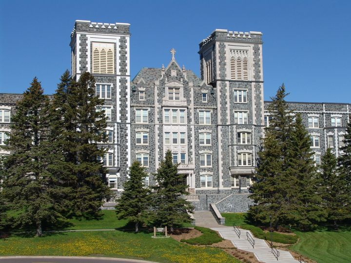 A College of St. Scholastica student is accusing the school of silencing her when she wanted to speak about be