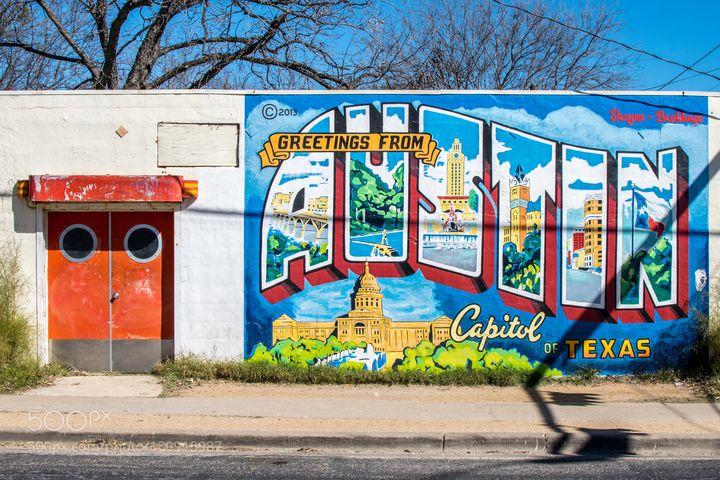 A scene from Austin, Texas.