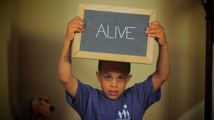 """My son Case, who suffers from Hunter Syndrome and cognitive challenges as a result, just wants to be alive when he grows up. More more information, visit <a href=""""http://projectalive.org"""" target=""""_blank"""">ProjectAlive.org</a>."""