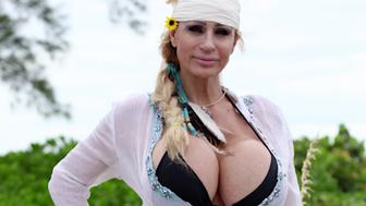 Lacey Wildd became famous for having sizeQ breasts Now shes working as a psychic under the name GhostBusty