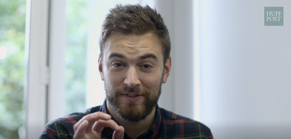<strong>Mental health campaigner Jonny Benjamin told HuffPost UK about growing up gay and attending a Jewish school.</strong>
