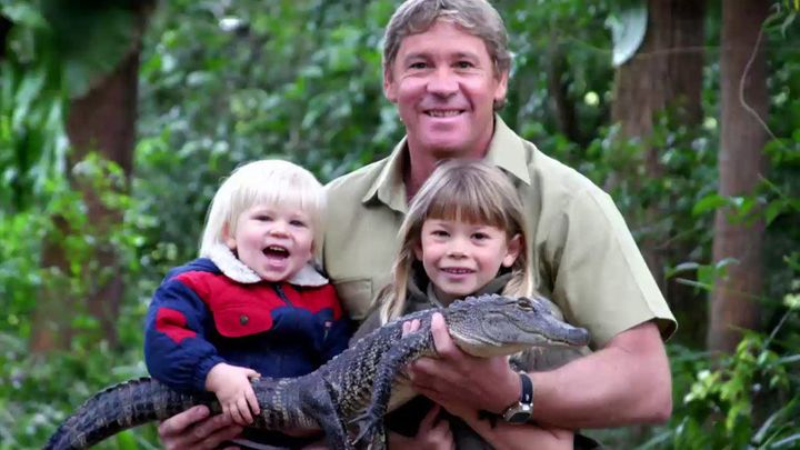 Bindi Irwin continues to follow in her fathers footsteps.