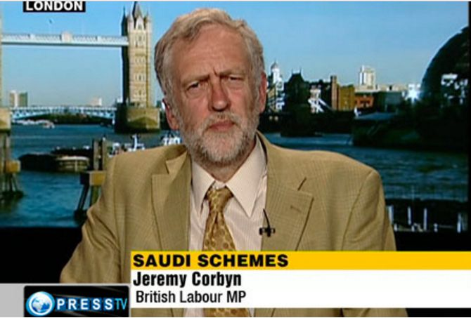 Corbyn appeared on the channel multiple times from 2009 to