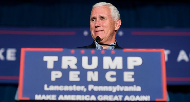Indiana Gov. Mike Pence (R) signed a religious freedom law in 2015.
