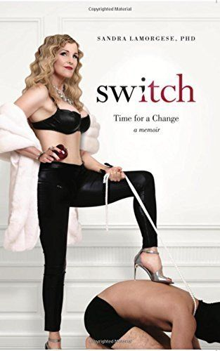Sandra LaMorgese's new book is called <i>Switch.</i>