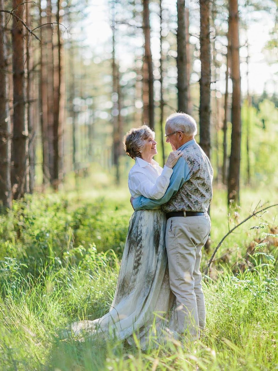 """We met on Thursday, March 31, 1960. My best friend, Bengt, and I escorted Ulla downstairs from a bar we had visited. I"