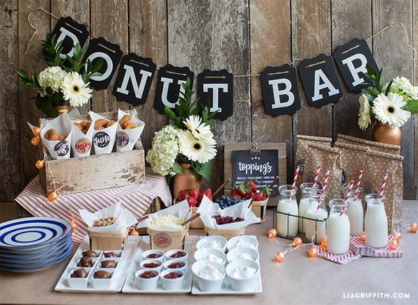 19 Darling And Delectable Ways To Serve Donuts At Your