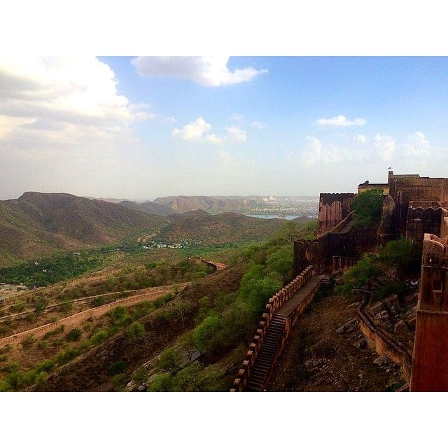 The view from Amer Fort, Jaipur
