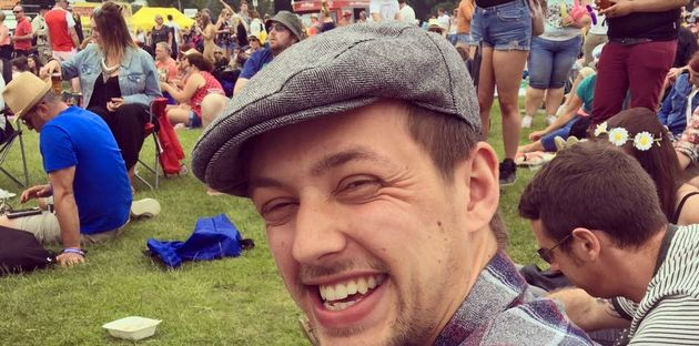 Simon Brown died in August after leaning out of a window of a moving Gatwick Express