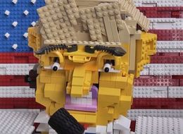 This Donald Trump Robot Made Out Of Lego Will Haunt Your Dreams