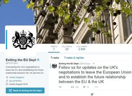 The Department For Brexit Has Joined Twitter And They're Already Getting Trolled