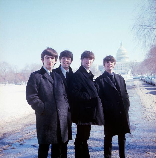 George, Paul, John and Ringo go to