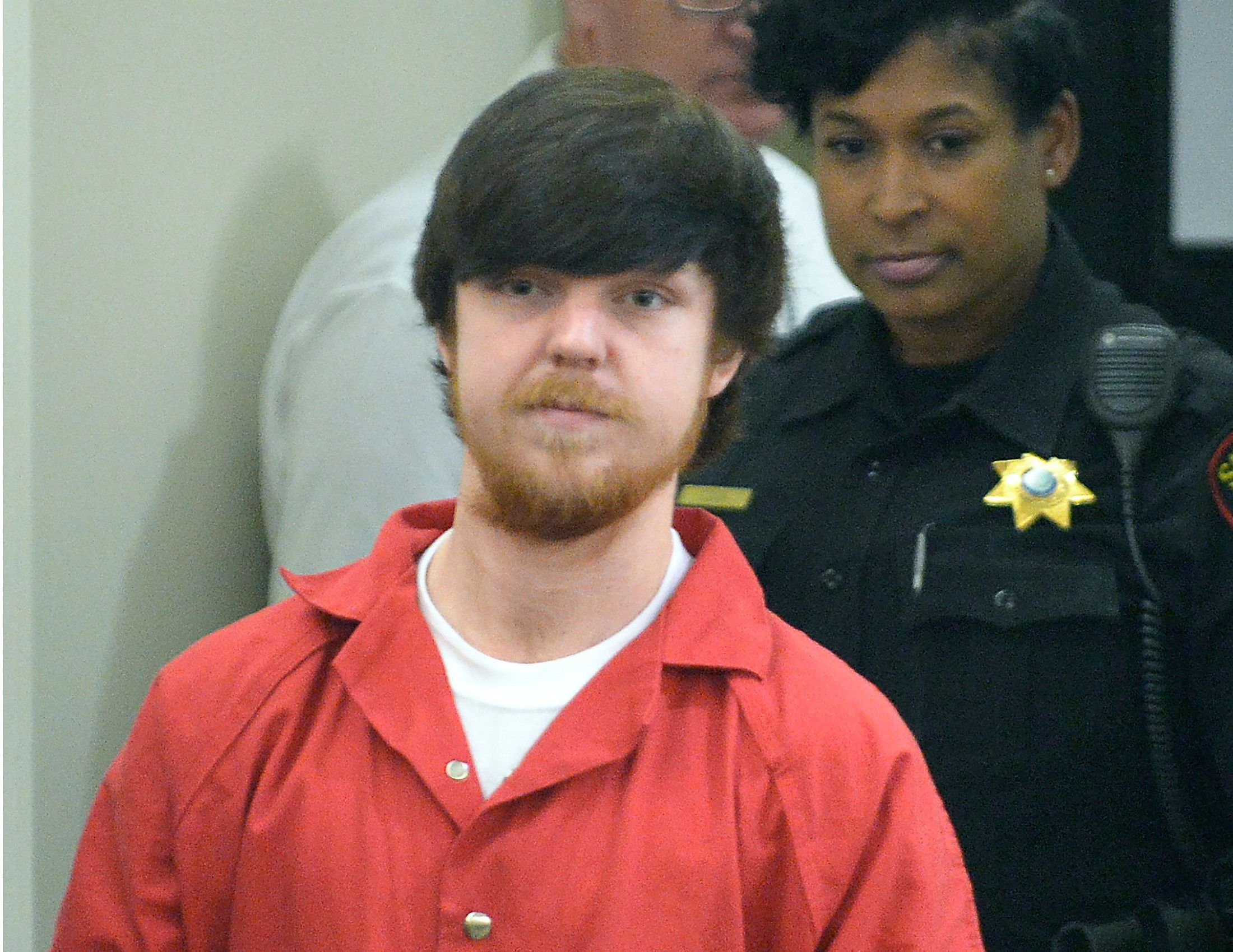 "Ethan Couch, the so-called ""affluenza"" teen, is seen during a court hearing back in April. Attorneys for Couch are asking tha"