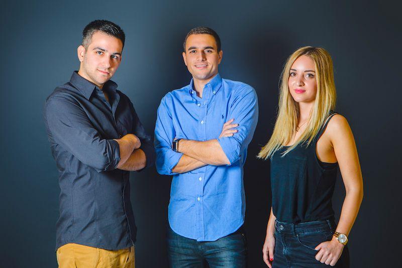 <i>Gadget Flow Founders (left: Mike Chliounakis) (center: Evan Varsamis) (right: Cassie Ousta)</i>