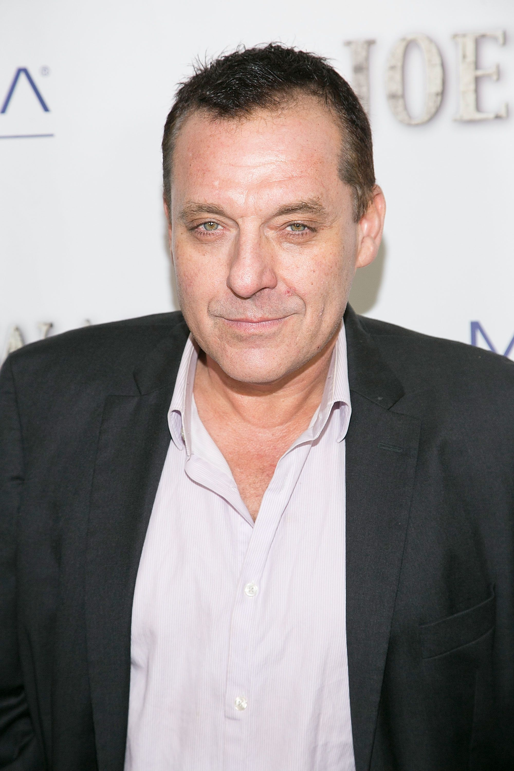 LOS ANGELES, CA - NOVEMBER 05:  Tom Sizemore arrives to the premiere of 'Joe's War' at Harmony Gold on November 5, 2015 in Los Angeles, California.  (Photo by Gabriel Olsen/Getty Images)