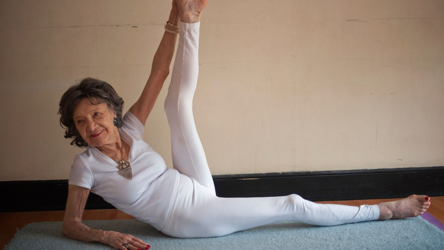 World's Oldest Yoga Teacher Shares 3 Secrets For Lifelong Happiness
