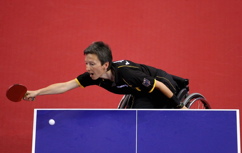 Germany's Andrea Zimmerer at the 2008 Paralympic Games.