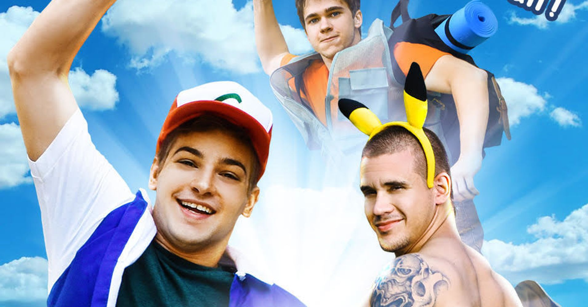 The Gay Pokémon Go Porn Parody You Didn't Know You Wanted Is Here | HuffPost