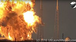 Watch A Video Of Today's SpaceX Falcon 9 Rocket