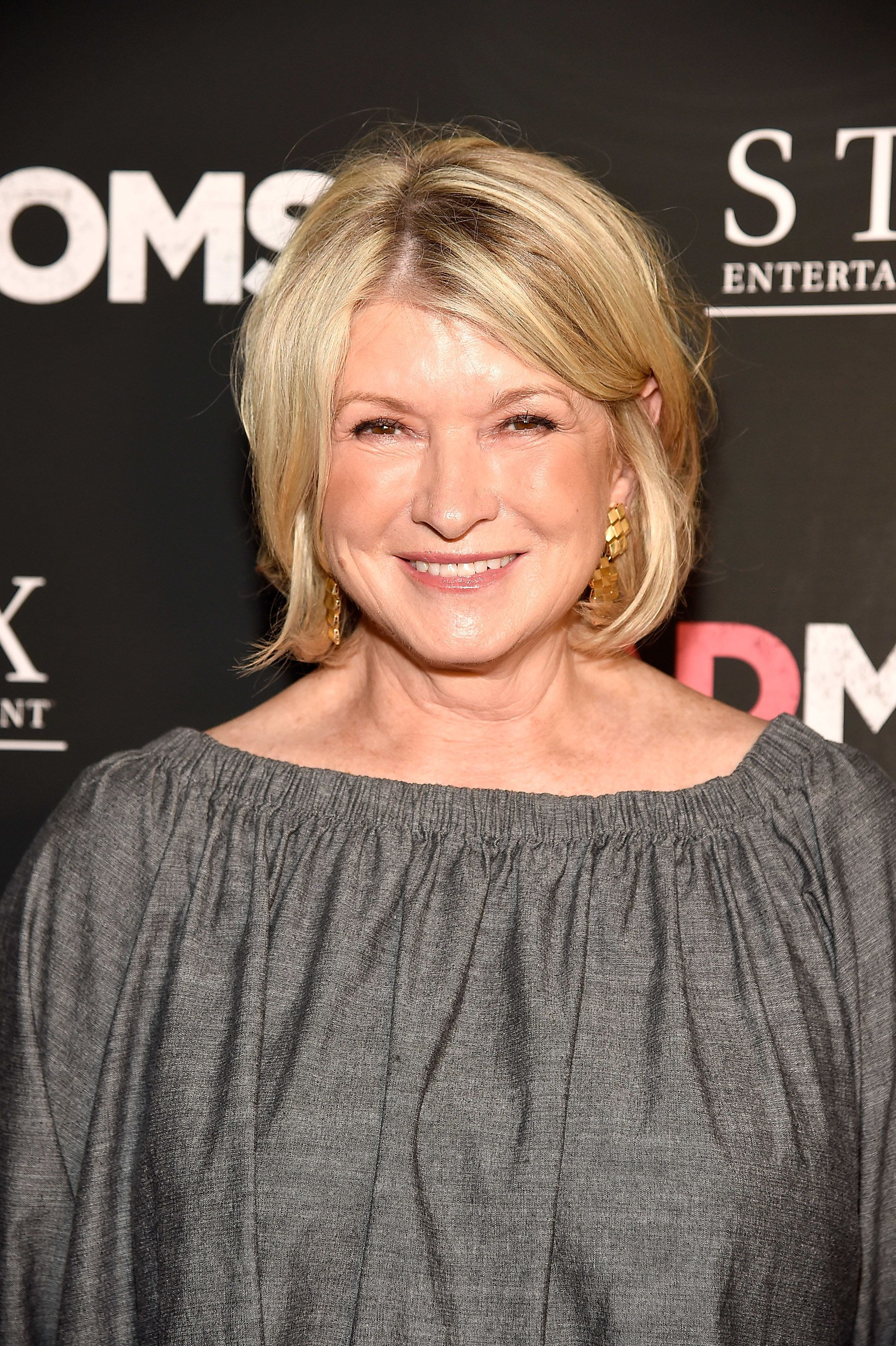 NEW YORK, NY - JULY 18:  Martha Stewart attends 'Bad Moms' New York premiere at Metrograph on July 18, 2016 in New York City.  (Photo by Kevin Mazur/WireImage)
