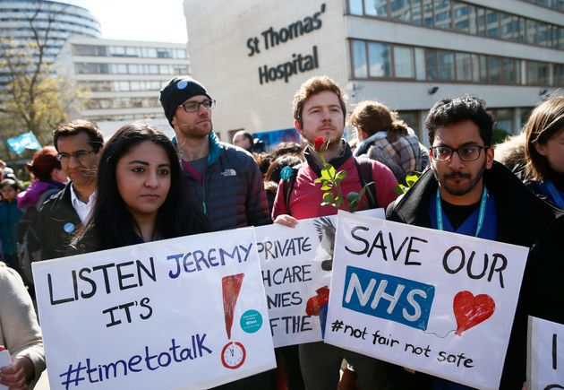 Junior doctors have announced four strikes this